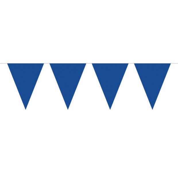 Vlaggenlijn XL blauw 10 meter