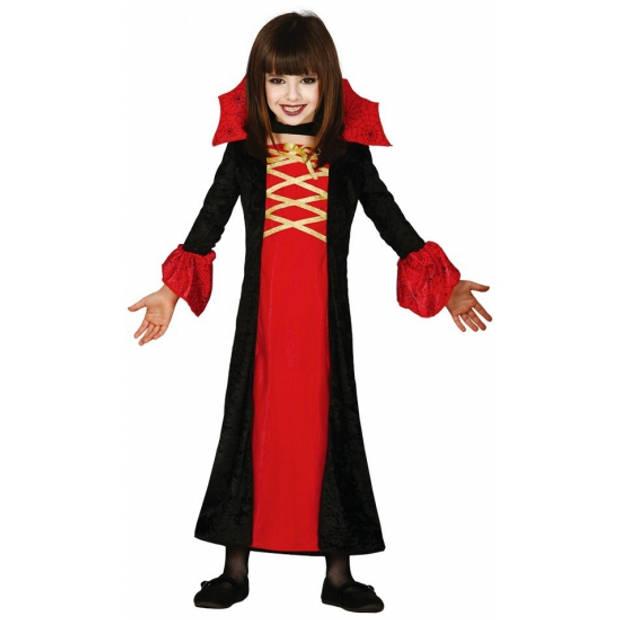 Vampieren jurk voor meisjes 140-152 (10-12 jaar)