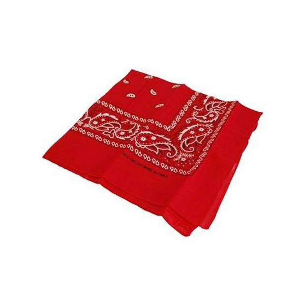 Rode boeren/cowboy zakdoek- boeren/cowboy bandana's