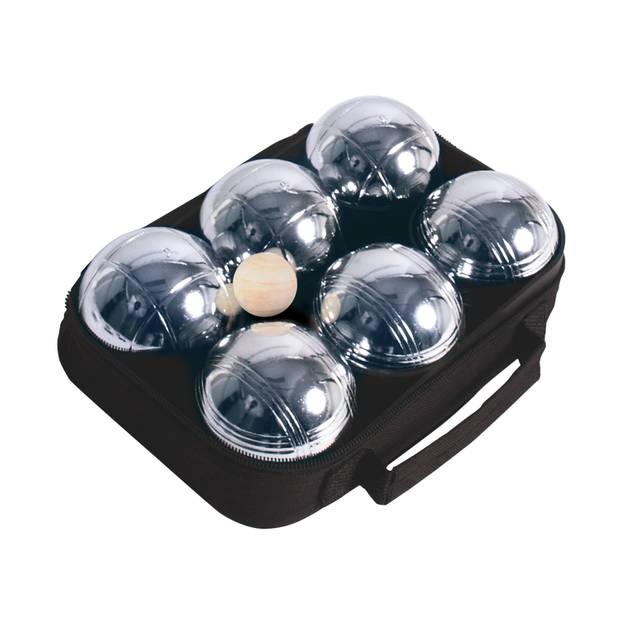 Jeu de boules set metaal (6st.)