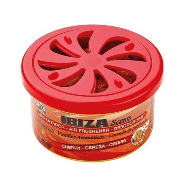 Ibiza Scents luchtverfrisser blikje Kersen rood