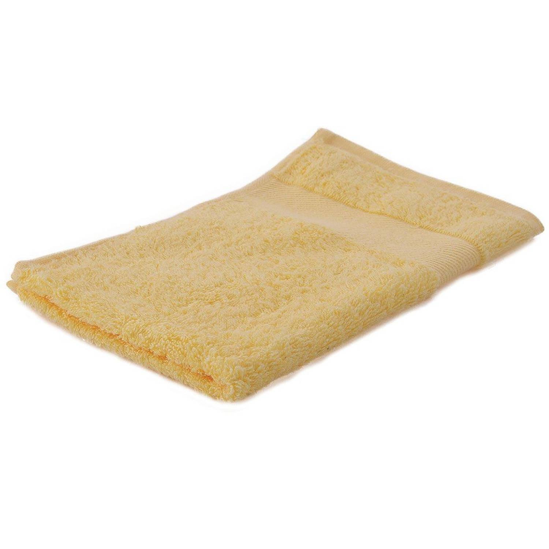 Korting Arowell Gastendoek Gastenhanddoek 50 X 30 Cm 500 Gram Crèmegeel 1 Stuks