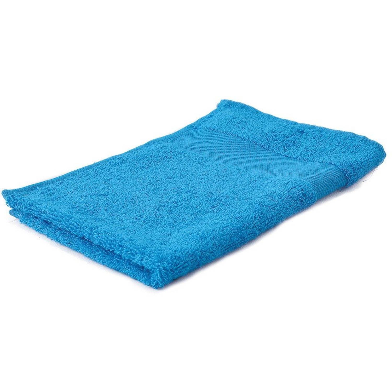 Korting Arowell Gastendoek Gastenhanddoek 50 X 30 Cm 500 Gram Turquoise 1 Stuks