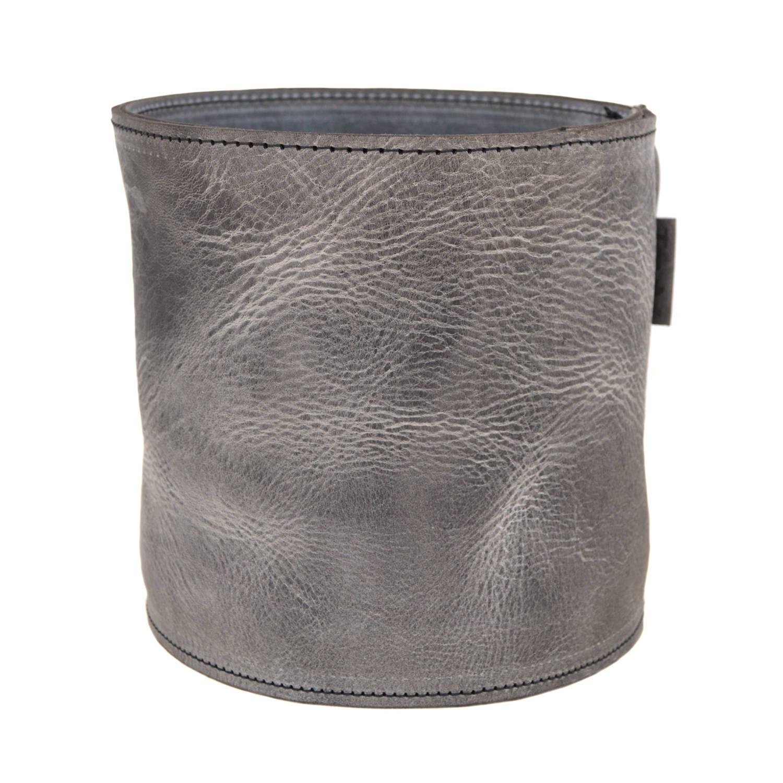 Scotts Bluf Lederen Bloempot Grey 31 Size M