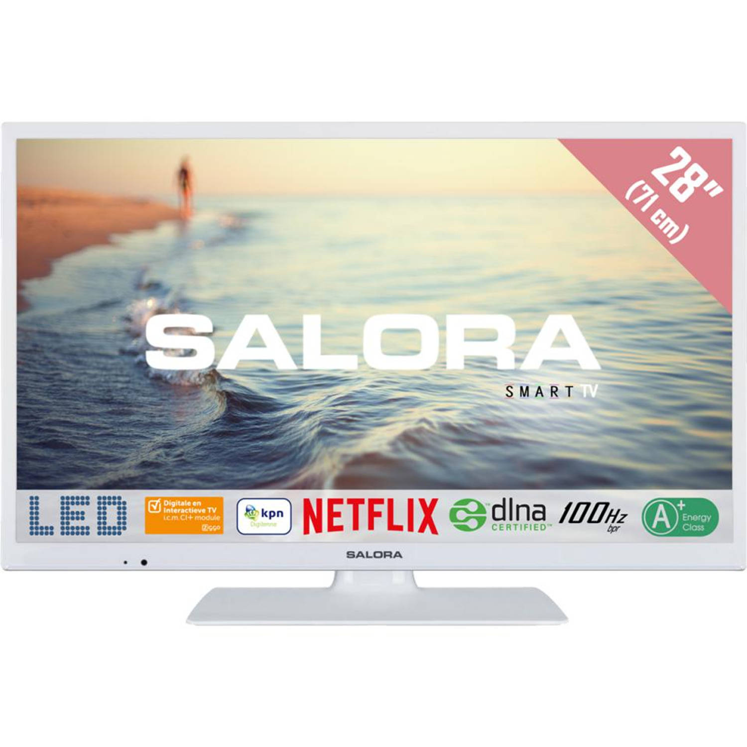 Salora Smart Led televisie 28HSW5012