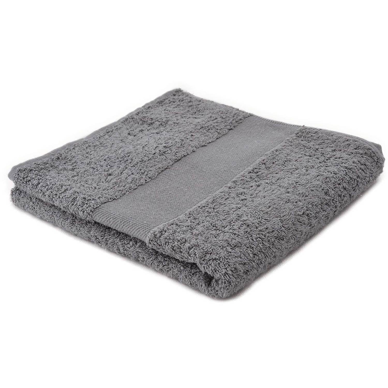 Afbeelding van Arowell badhanddoek badlaken 100 x 50 cm - 500 gram - lichtgrijs - 3 stuks