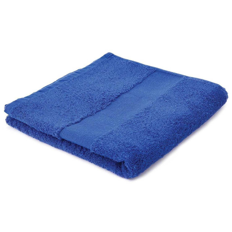 Afbeelding van Arowell badhanddoek badlaken 100 x 50 cm - 500 gram - kobaltblauw - 5 stuks