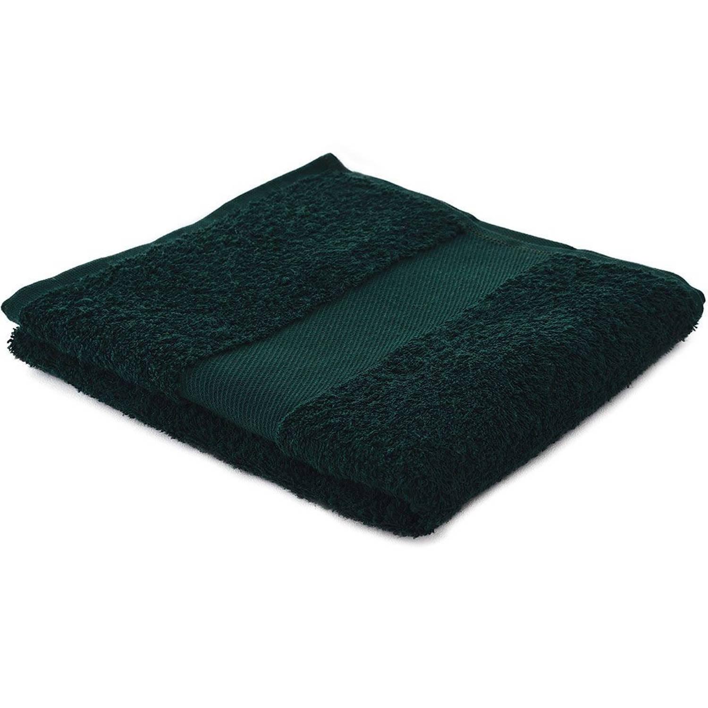 Afbeelding van Arowell badhanddoek badlaken 100 x 50 cm - 500 gram - donkergroen - 10 stuks