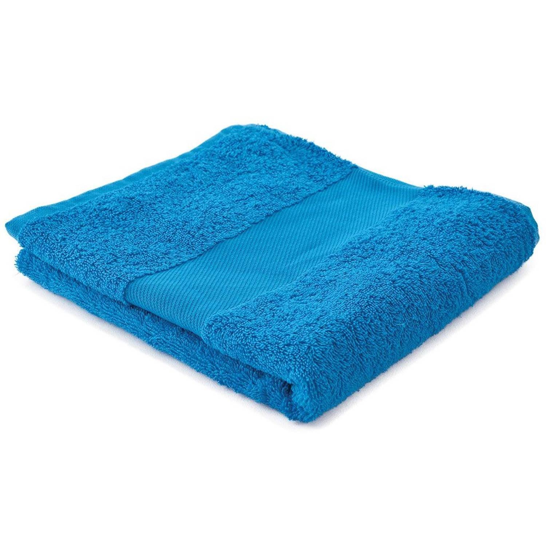 Afbeelding van Arowell badhanddoek badlaken 100 x 50 cm - 500 gram - turquoise - 10 stuks