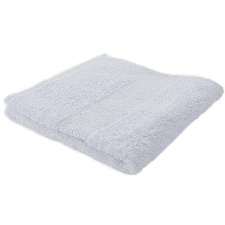 Afbeelding van Arowell badhanddoek badlaken 100 x 50 cm - 500 gram - wit - 10 stuks