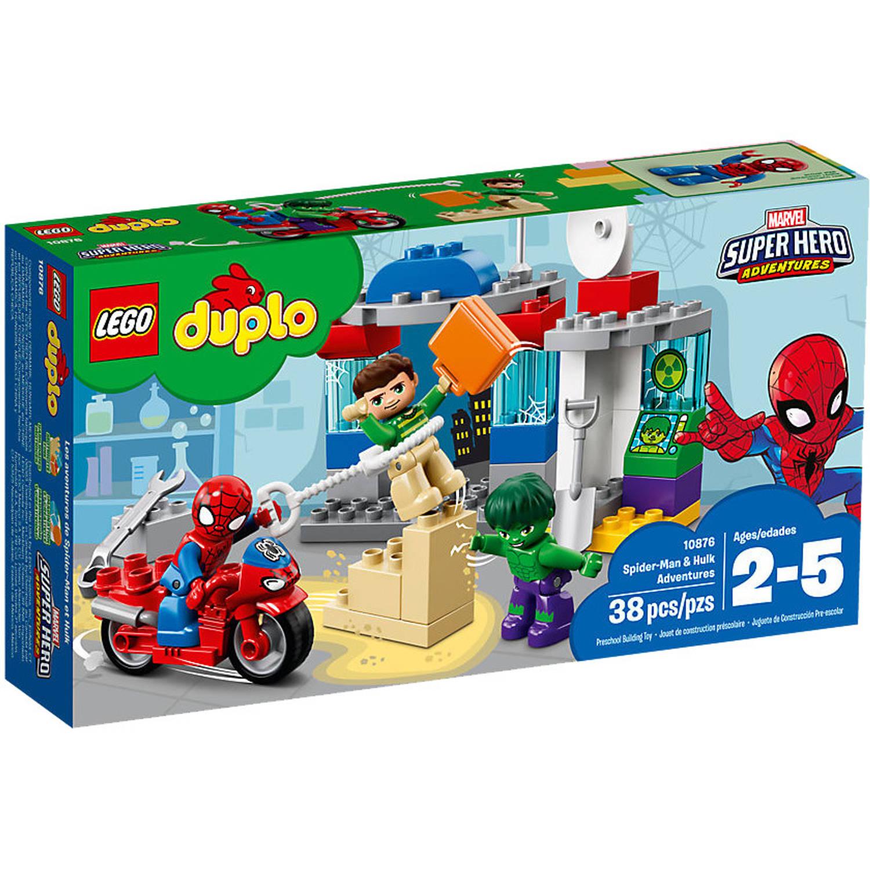DUPLO - Avonturen van Spider-Man en Hulk