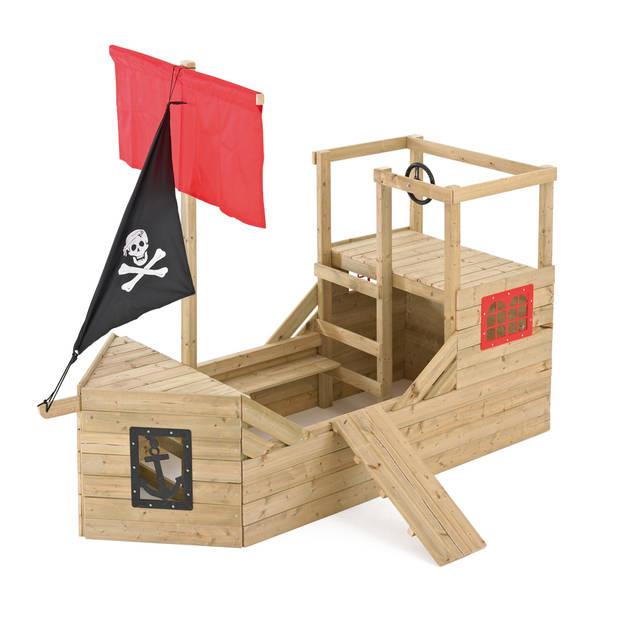 Houten piratenschip tp