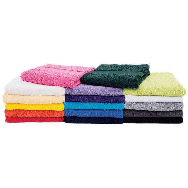Arowell badhanddoek badlaken 100 x 50 cm - 500 gram - lichtgrijs - 1 stuks