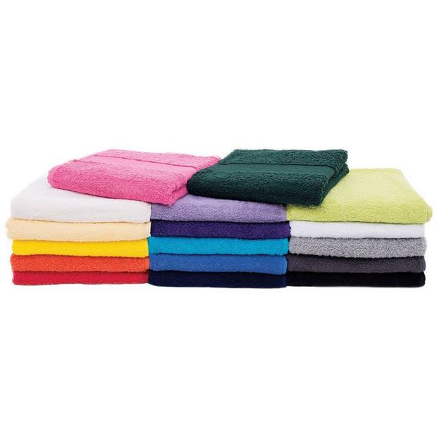 Arowell badhanddoek badlaken 100 x 50 cm - 500 gram - roze - 1 stuks
