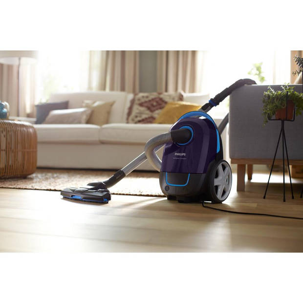 Philips stofzuiger Performer Compact FC8370/09 - paars