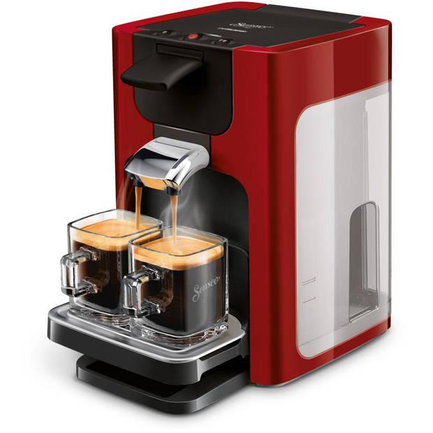 Philips SENSEO® Quadrante koffiepadmachine HD7865/80 - rood