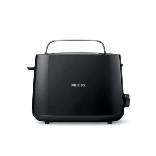 Philips broodrooster Daily Collection HD2581/90 - zwart