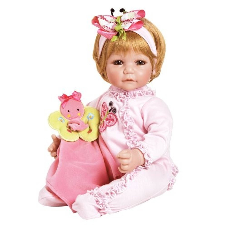 Afbeelding van Adora toddler time baby butterfly boo roze meisjes 51 cm