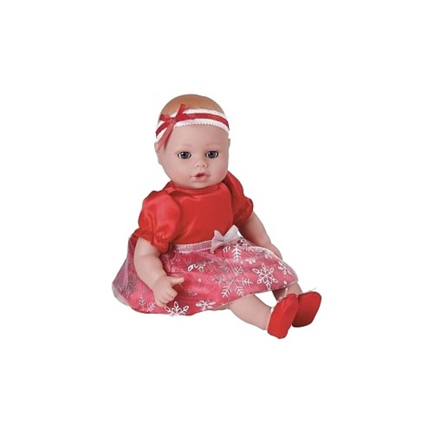Adora Playtime Baby Snowflake rood meisjes 33 cm