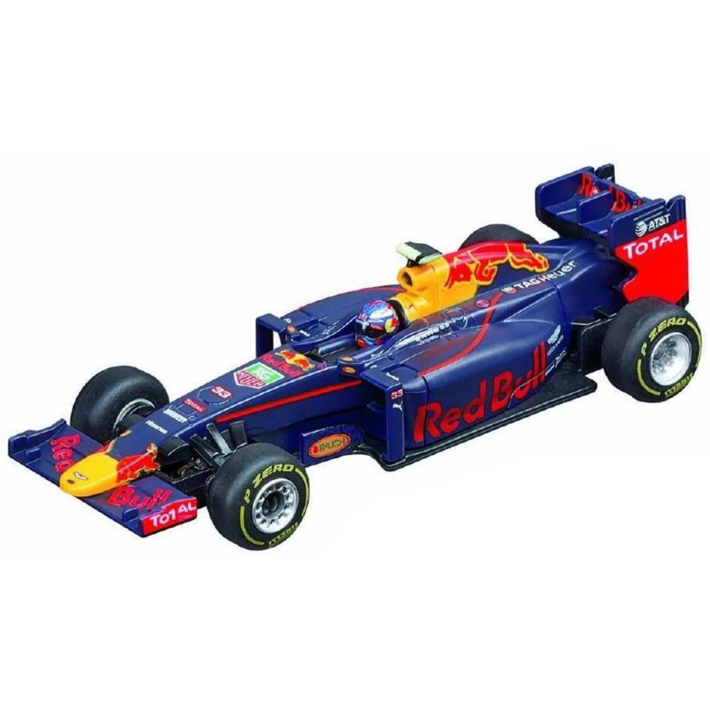 Red Bull Formula One Wagen Max Verstappen 2017 Blauw 11 Cm Blokker