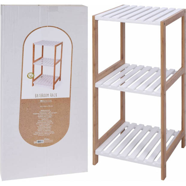 Handdoek Opbergrek Bamboe (Bathroom Solutions)