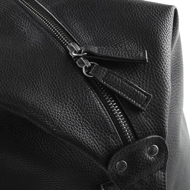 Senvi Weekender Bag - Kleur Zwart - Leatherlook - 30 liter