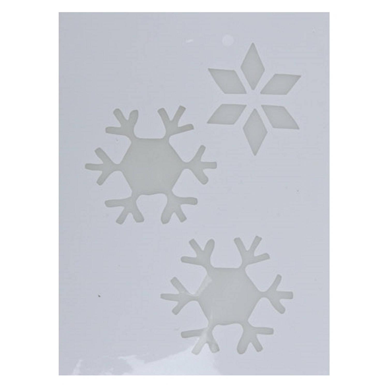 Korting Kerst Raamsjablonen Sneeuwvlok Plaatjes 35 Cm Raamdecoratie Kerst Sneeuwspray Sjabloon
