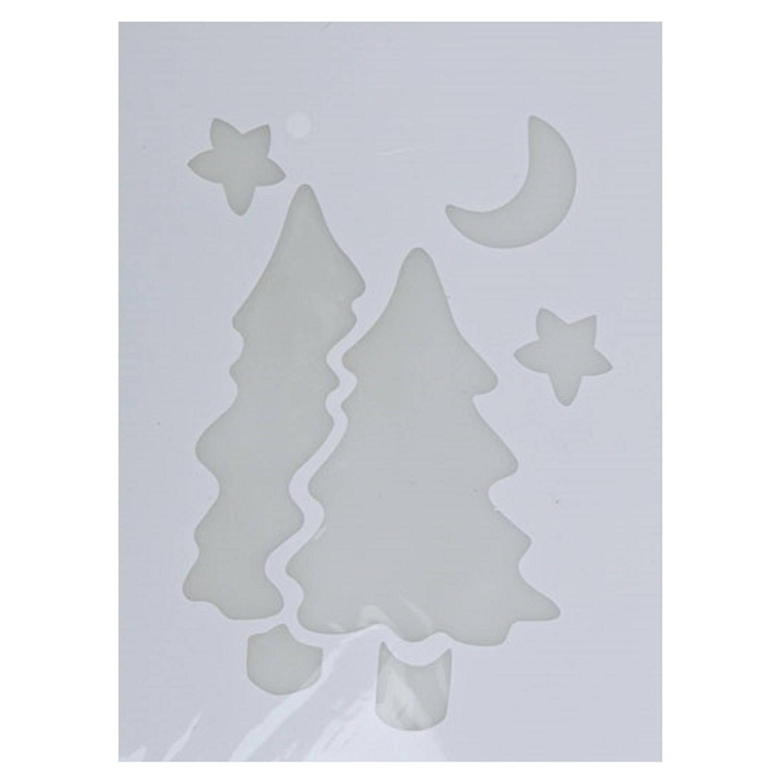 Korting Kerst Raamsjablonen Kerstbomen Plaatjes 35 Cm Raamdecoratie Kerst Sneeuwspray Sjabloon