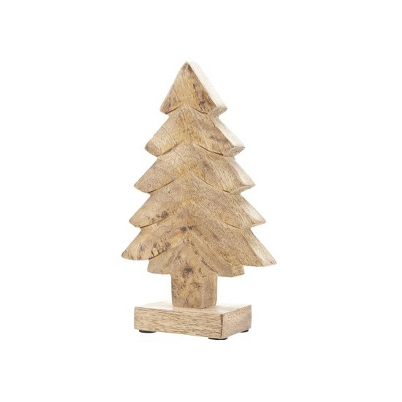 Houten kerstboom 20 cm