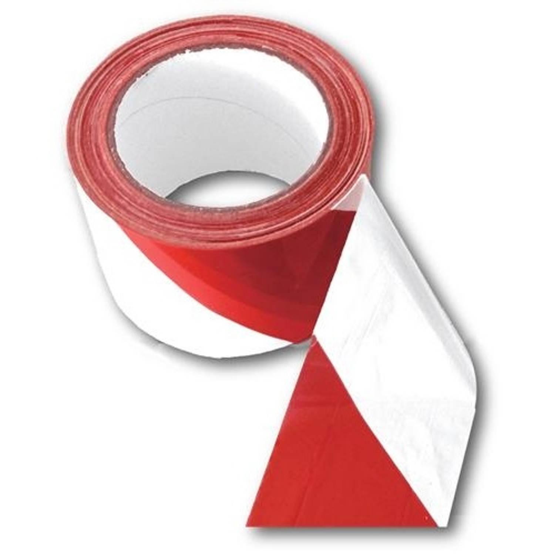 Afbeelding van Amigo afzetlint 200 meter rood/wit