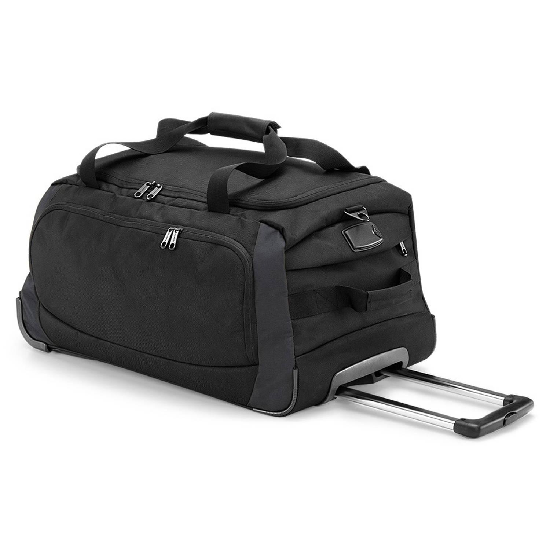 Quadra tungsten™ sporttas-reistas met wielen black-dark graphite