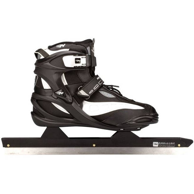 Nijdam noren schaatsen semi softboot pro line zwart maat 43