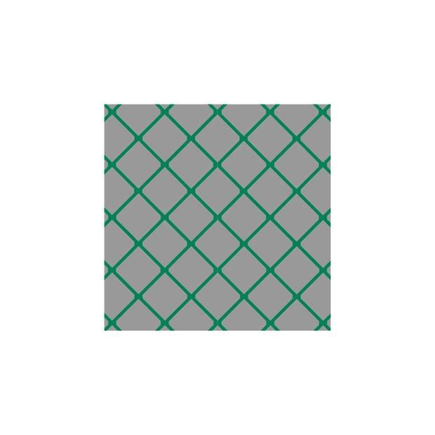 Amigo mini voetbaldoelnet 300 x 100 x 80 x 80 cm groen