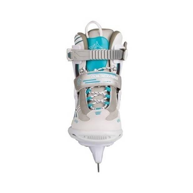 Nijdam ijshockeyschaatsen semi softboot dames wit maat 41
