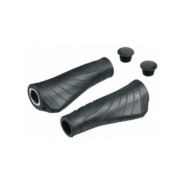 Ergotec handvat reno aks-07/2 135 / 135 mm gel zwart