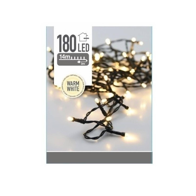 Kerstverlichting warm wit buiten 180 lampjes