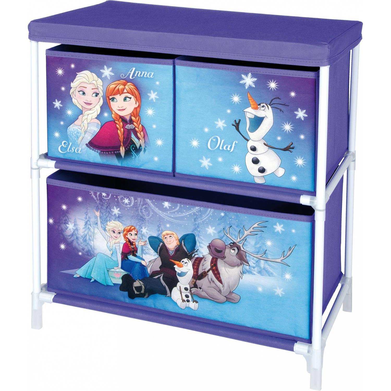 Disney frozen opbergkast met 3 lades 53 x 30 x 60 cm