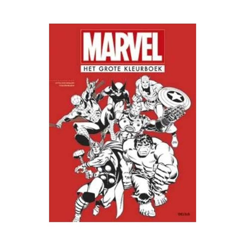 kleurboek Marvel Het grote kleurboek 34 cm