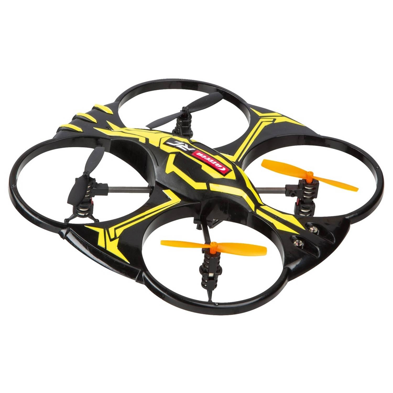 Carrera quadrocopter x1 zwart/geel 17,7 cm