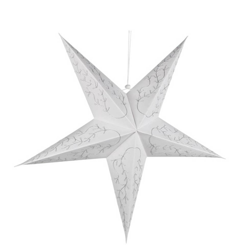 kerstster verlicht wit 68cm kerstartikelen