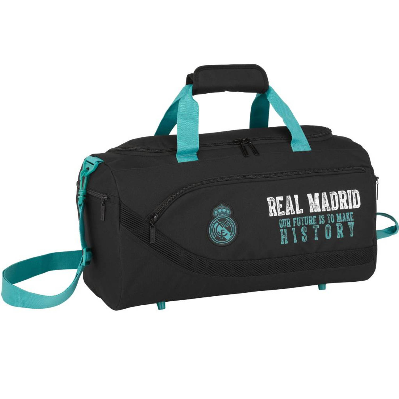 Korting Real Madrid Sporttas 50 Cm Zwart