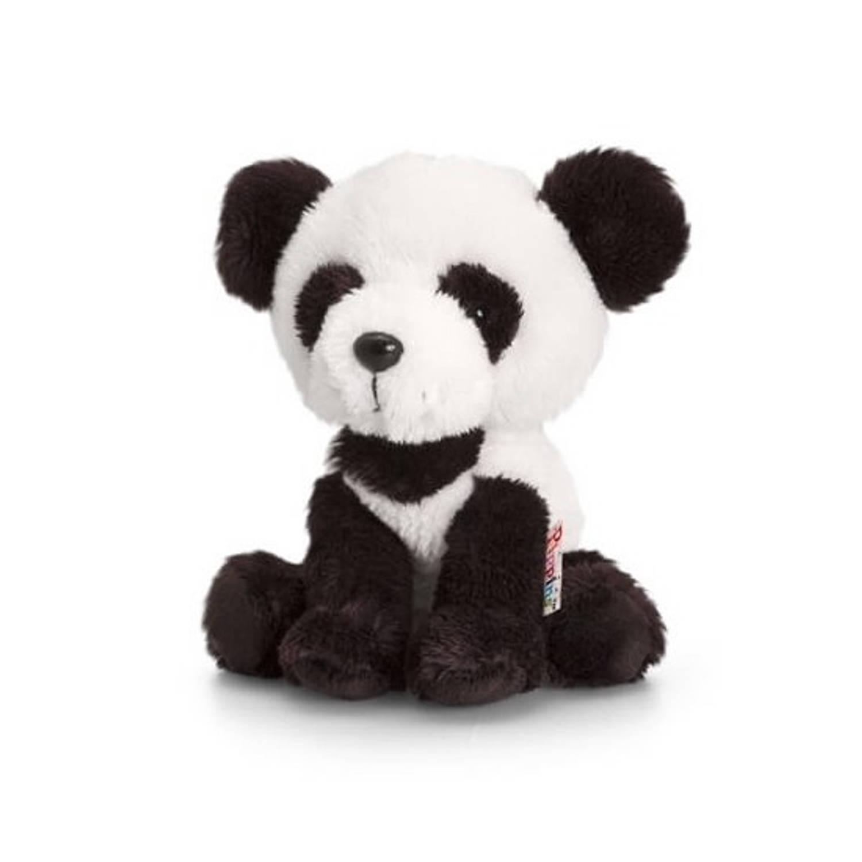 Keel Toys pluche panda knuffel 14 cm