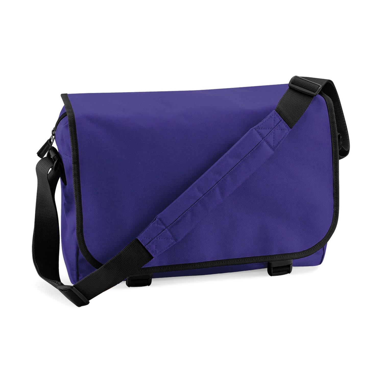 Bagbase classic schoudertas paars 15 liter