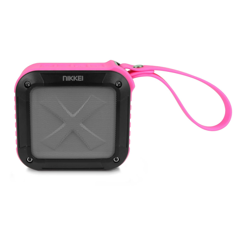 Nikkei boxx1pk waterbestendige bluetooth speaker 3w- roze
