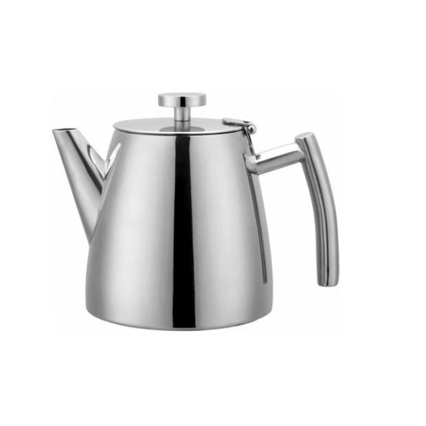 Theepot - Dubbelwandig RVS - 1,2L - Cafè Ole