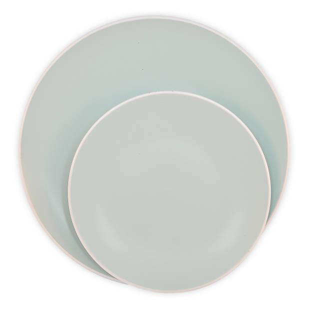 Oslo ontbijtbord - ø 20 cm - zeegroen