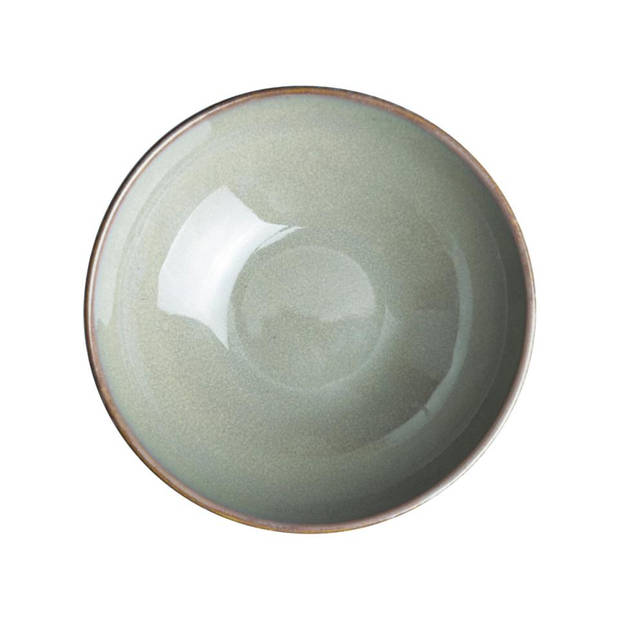 Herman den Blijker kom - Ø 12 x 4.3 cm - lichtgrijs