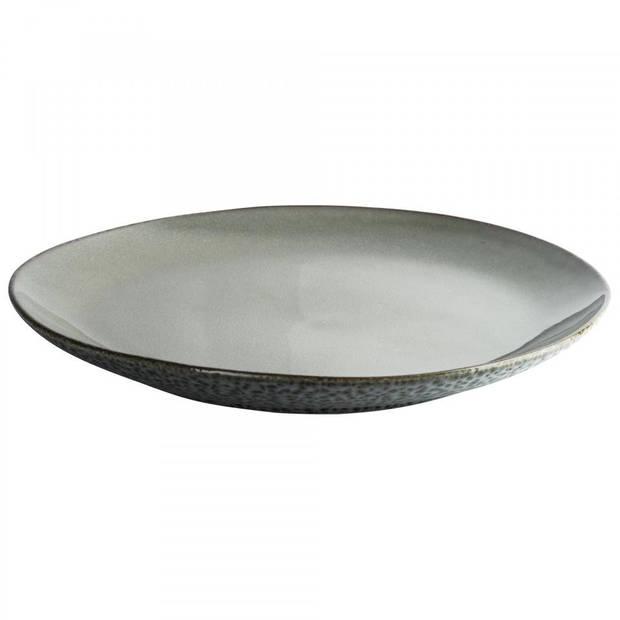 Herman den Blijker dinerbord - egaal - Ø 27 x 3.2 cm - lichtgrijs