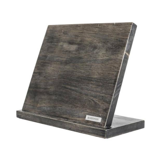 Herman den Blijker messenblok - 28 x 12,5 x 22,5 cm