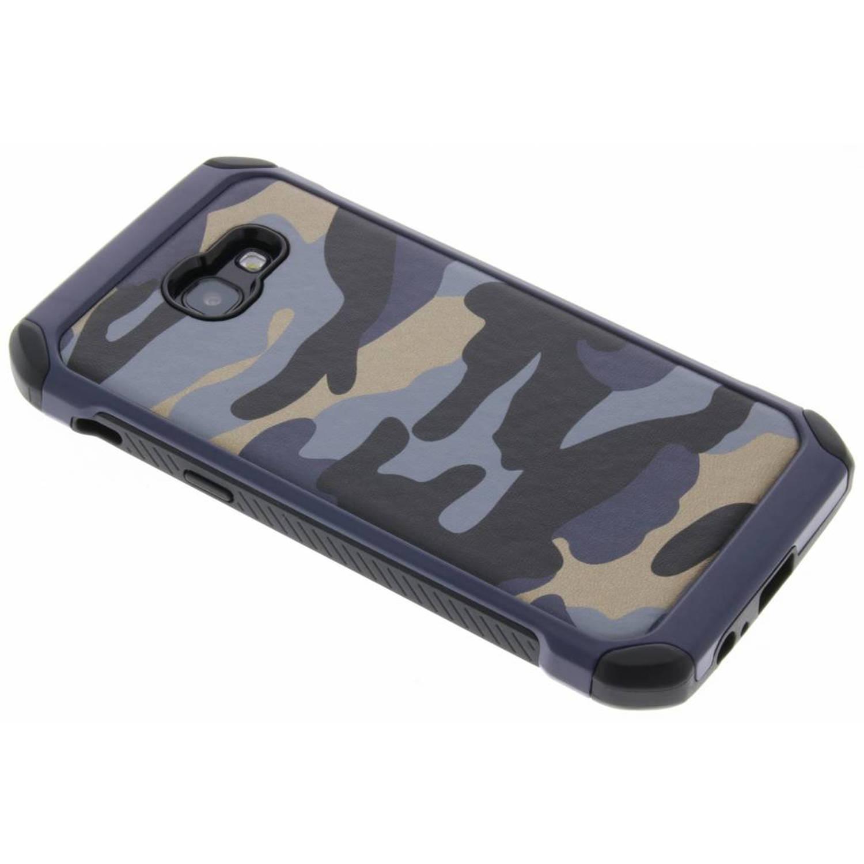 Blauw Army defender hardcase hoesje voor de Samsung Galaxy A5 (2017)